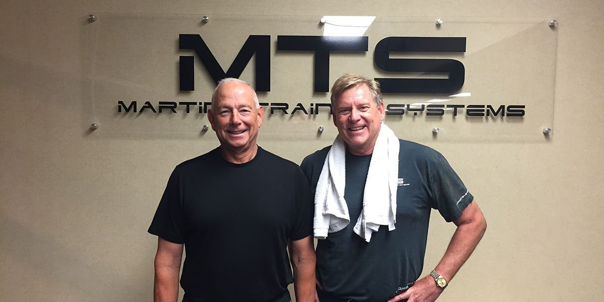Chuck McCann & Steve Stufflebaum